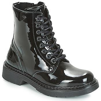 Topánky Dievčatá Polokozačky Bullboxer LANA Čierna