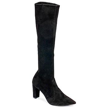 Topánky Ženy Čižmy do mesta Perlato JEANY Strech / Čierna