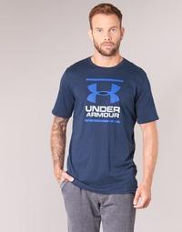 Oblečenie Muži Tričká s krátkym rukávom Under Armour UA GL FOUNDATION SS T Námornícka modrá