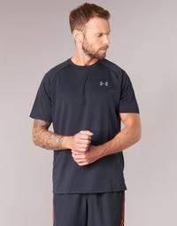 Oblečenie Muži Tričká s krátkym rukávom Under Armour UA TECH SS TEE Čierna