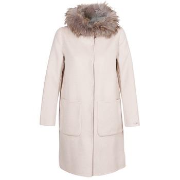 Oblečenie Ženy Kabáty Oakwood YALE BI Béžová / Šedá