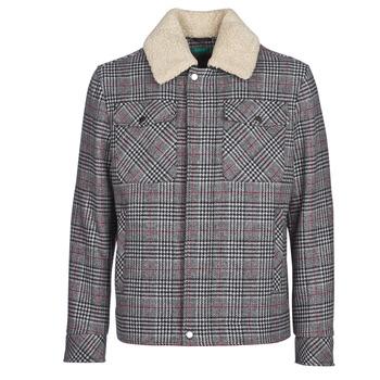 Oblečenie Muži Kabáty Benetton MADRILA Šedá