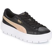 Topánky Ženy Nízke tenisky Puma WN PLATFORM TRACE BSQT.BLK Čierna