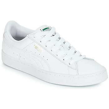 Topánky Nízke tenisky Puma BASKET CLASSIC LFS.WHT Biela