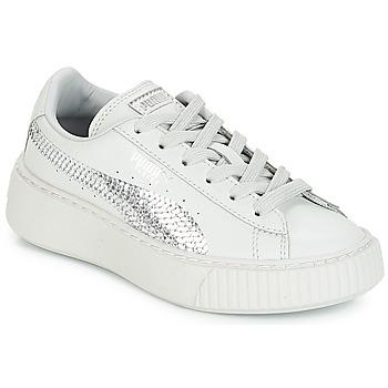 Topánky Dievčatá Nízke tenisky Puma G PS B PLATFORM BLING.GRAY Šedá granitová