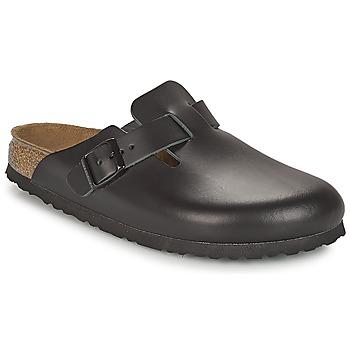 Topánky Muži Nazuvky Birkenstock BOSTON Čierna