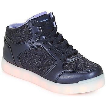 Topánky Dievčatá Členkové tenisky Skechers ENERGY LIGHTS Námornícka modrá
