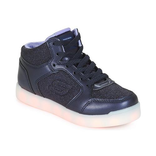 Topánky Dievčatá Členkové tenisky Skechers ENERGY LIGHTS Námornícka modrá 082d813af21