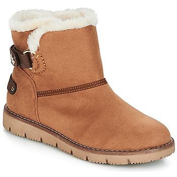 Topánky Ženy Polokozačky Tom Tailor SIDYA Ťavia hnedá