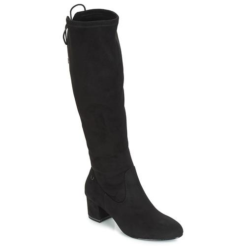 Topánky Ženy Cizmy Nad Kolenà Tamaris PEDAS Čierna