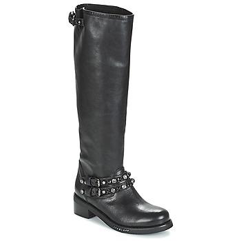 Topánky Ženy Čižmy do mesta Mimmu MELVYN Čierna
