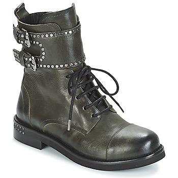 Topánky Ženy Polokozačky Mimmu MICHEE Kaki