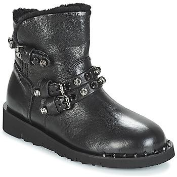 Topánky Ženy Polokozačky Mimmu MALONN Čierna