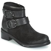 Topánky Ženy Polokozačky Mimmu MYLANN Čierna