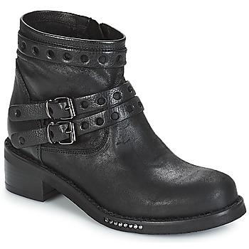 Topánky Ženy Polokozačky Mimmu MAIRON Čierna