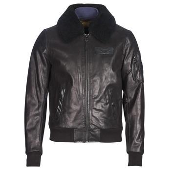 Oblečenie Muži Kožené bundy a syntetické bundy Redskins COMMANDER STRIKING Čierna