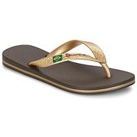 Topánky Ženy Žabky Ipanema CLASSICA BRASIL II Hnedá / Zlatá