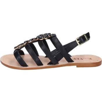 Topánky Ženy Sandále E...vee Sandále BY184 Čierna
