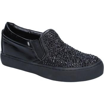 Topánky Ženy Slip-on Sara Lopez BY240 Čierna