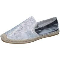 Topánky Ženy Mokasíny Sara Lopez BY241 Striebro