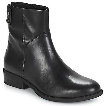 Topánky Ženy Polokozačky Vagabond CARY Čierna