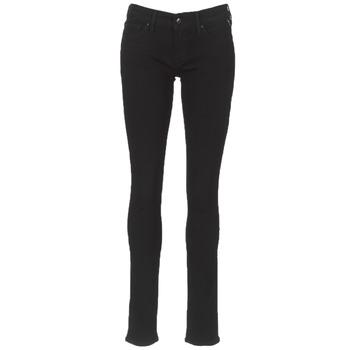 Oblečenie Ženy Džínsy Slim Replay LUZ Čierna