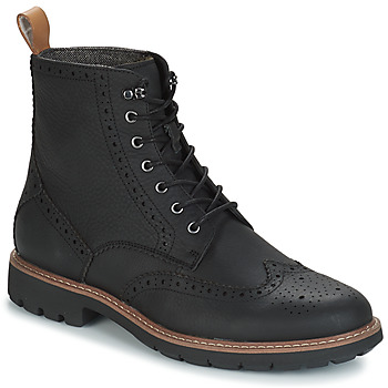 Topánky Muži Polokozačky Clarks BATCOMBE LORD Čierna