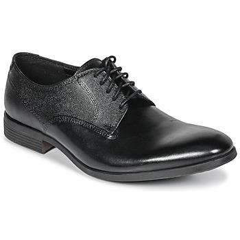 Topánky Muži Derbie Clarks GILMORE Čierna