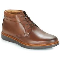 Topánky Muži Polokozačky Clarks UN Hnedá