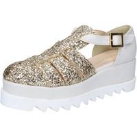 Topánky Ženy Sandále Olga Rubini BY337 Striebro