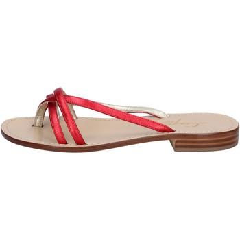 Topánky Ženy Sandále Capri Soleae BY501 Červená