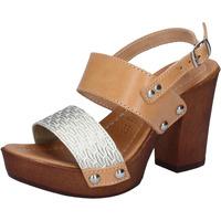 Topánky Ženy Sandále Made In Italia BY516 Hnedá