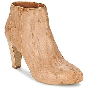Topánky Ženy Čižmičky Vic RIBE INTAGLIATO Hnedá