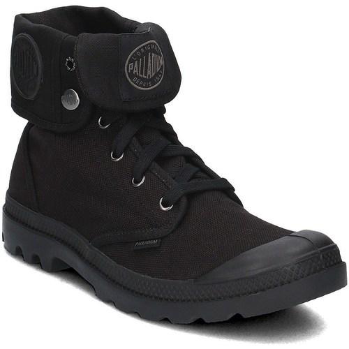 Topánky Muži Členkové tenisky Palladium Baggy Čierna