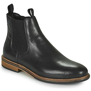 Topánky Muži Polokozačky Schmoove PILOT CHELSEA Čierna