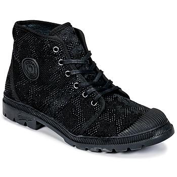 Topánky Ženy Polokozačky Pataugas Authentique TP Čierna