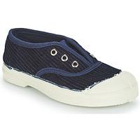 Topánky Deti Nízke tenisky Bensimon TENNIS ELLY CORDUROY Námornícka modrá