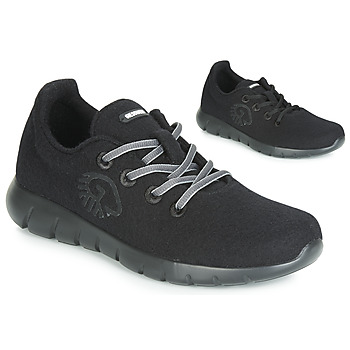 Topánky Ženy Nízke tenisky Giesswein MERINO RUNNERS Čierna