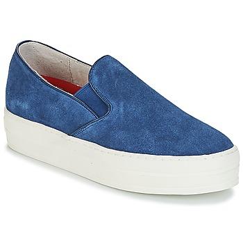 Topánky Ženy Slip-on Skechers UPLIFT Modrá