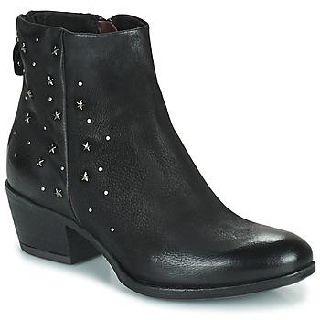 Topánky Ženy Polokozačky Mjus DALLY STAR Čierna