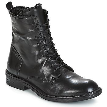 Topánky Ženy Polokozačky Mjus PAL LACE Čierna
