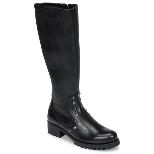 Topánky Ženy Čižmy do mesta Unisa IKERI Čierna