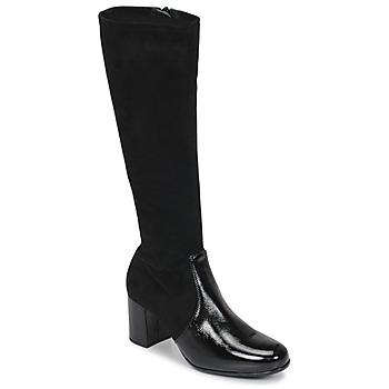 Topánky Ženy Čižmy do mesta Unisa ORLANDO Čierna