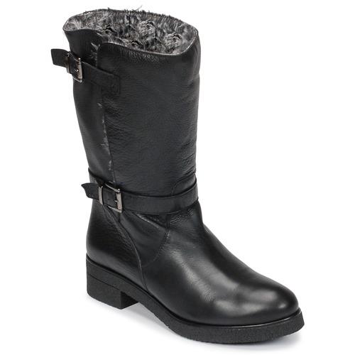 Topánky Ženy Polokozačky Unisa DALI Čierna