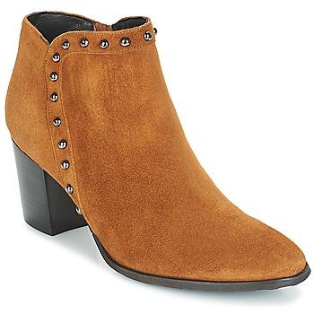 Topánky Ženy Čižmičky Myma POUTZ Ťavia hnedá