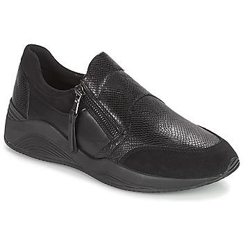 Topánky Ženy Nízke tenisky Geox D OMAYA Čierna