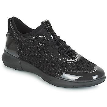 Topánky Ženy Nízke tenisky Geox D NEBULA X Čierna