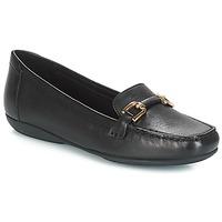 Topánky Ženy Mokasíny Geox D ANNYTAH MOC Čierna