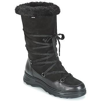 Topánky Ženy Obuv do snehu Geox D HOSMOS B ABX Čierna