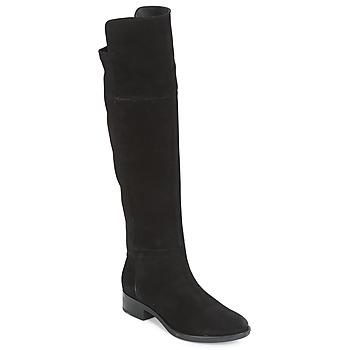 Topánky Ženy Vysoké čižmy Geox D FELICITY Čierna